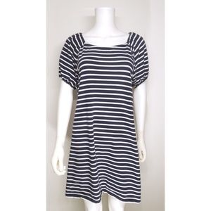 Ann Taylor Loft Stripe Dress Size Medium